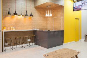 corporate interior design offices Rawson's reception 4