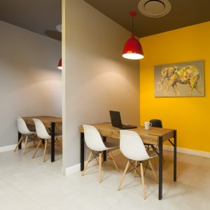 corporate interior design offices Rawson's consultation cubicles 1
