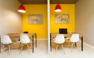 corporate interior design offices Rawson's consultation cubicles 3