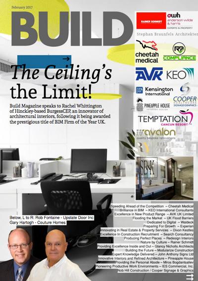 redesign interiors Build Magazine feature