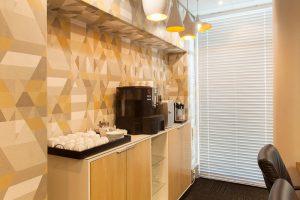 corporate interior design offices kitchen