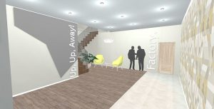 Redesign Interiors corporate interior design offices lobby 1