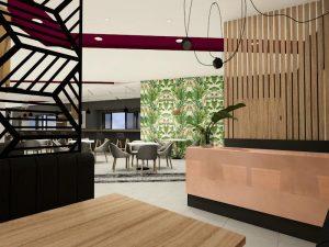 corporate interior design hotel restaurant 5