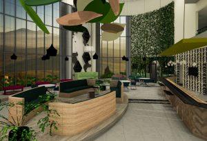 corporate interior design hotel atrium 2