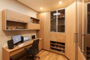 residential interior design Naidoo bedroom 1