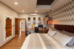 residential interior design Naidoo main bedroom 2