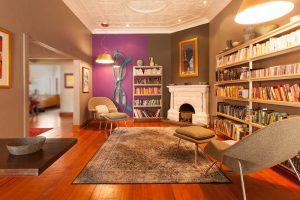 residential interior design Beagle library 4
