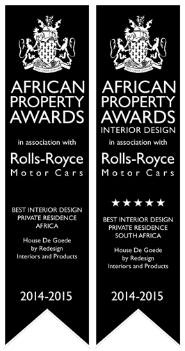 interior design Rolls Royce African property awards