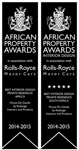 interior design Rolls Royce African property awards