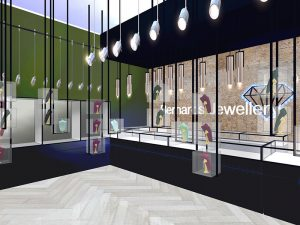 corporate interior design retail jewellery store 8