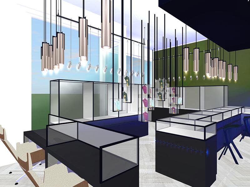 corporate interior design retail jewellery store 9
