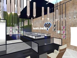 corporate interior design retail jewellery store 3