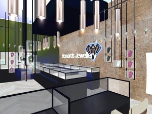 corporate interior design retail jewellery store 6