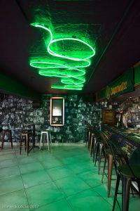 corporate interior design restaurant LL bar seating 3