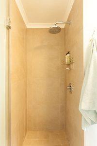 residential interior design Brookes bathroom entrance