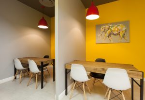 corporate interior design offices Rawson's consultation cubicles 4