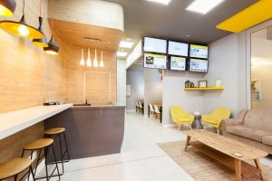 corporate interior design offices Rawson's reception 5