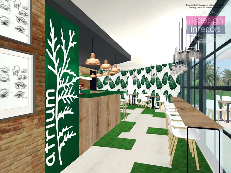 Concept For Atrium Diabteic And Health Centre. Interior Concept Design ...