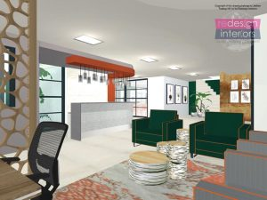 interior concept design - atrium diabetic centre