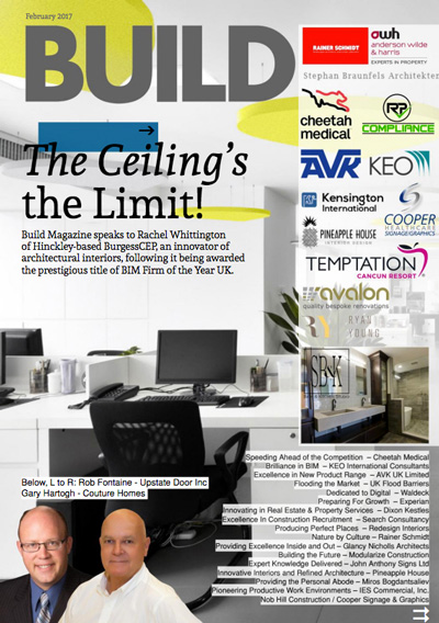 redesign interiors Build Magazine feature