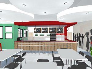 corporate interior design canteen kitchen 1
