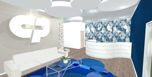 Redesign Interiors corporate interior design offices reception 1