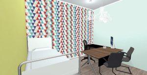 Redesign Interiors corporate interior design offices medical room