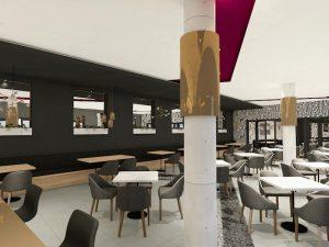 corporate interior design hotel restaurant 1