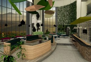 corporate interior design hotel atrium 2