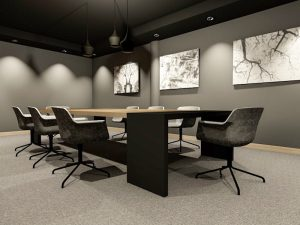 corporate interior design hotel board room angle 1