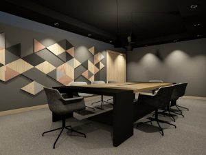 corporate interior design hotel board room angle 3