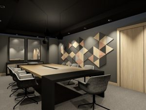 corporate interior design hotel board room angle 2
