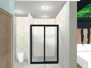 corporate interior design hotel family room bathroom