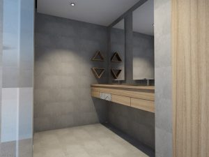 corporate interior design hotel superior bathroom