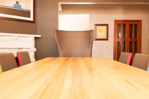 residential interior design Beagle dining room table 2