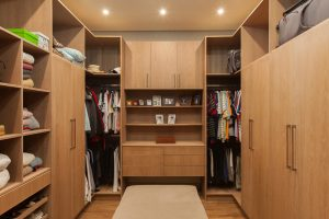 residential interior design Naidoo second bedroom closet