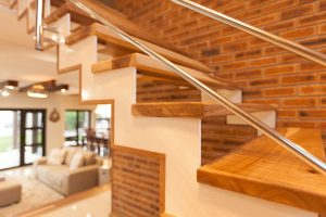 residential interior design Naidoo foyer stairs