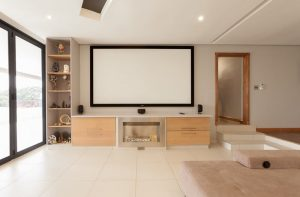 residential interior design Naidoo gym and cinema 3