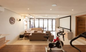 residential interior design Naidoo gym and cinema 1