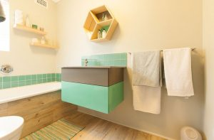 residential interior design Brookes bathroom 1