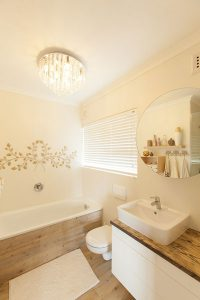 residential interior design Brookes main bathroom 2