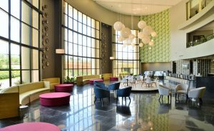 dining area hotel interior design