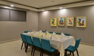 hotel design - private dining room