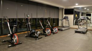 hotel interior design gym