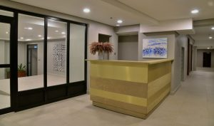 hotel interior design health area reception