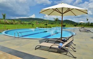 pool at epic hotel rwanda