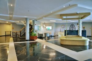 hotel reception interior design