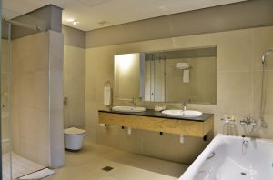 hotel en suite bathroom interior design